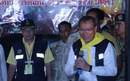 Thái Lan họp báo, xác nhận mới có 4 cậu bé được giải cứu
