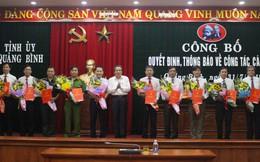 Quảng Bình điều động, bổ nhiệm hàng loạt lãnh đạo