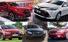 Top 10 ô tô bán chạy nhất  tháng 7/2018:  Honda CR-V tụt khỏi bảng xếp hạng, Hyundai Grand i10 vươn lên dẫn đầu