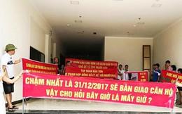 Nghệ An: Hợp đồng một đằng, nhận nhà một nẻo, cư dân phản đối chủ đầu tư