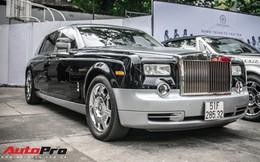 """Rolls-Royce Phantom EWB """"bí ẩn"""" của ông chủ cà phê Trung Nguyên xuất hiện tại Sài Gòn"""