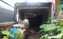Ảnh: Cận cảnh hố tử thần sâu 3m tại nhà dân ở Hà Nội