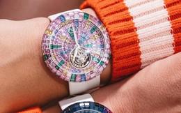 Ngắm chiếc đồng hồ tourbillion rực rỡ  nhất của Jacob & Co: Mê hoặc từ ánh nhìn đầu tiên