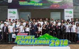 """""""Honda Fuel Challenge 2018"""" đầy thuyết phục với kết quả tiêu hao nhiên liệu của Honda CR-V và Honda Jazz"""