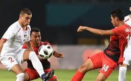 Thắng may mắn, Olympic Syria chờ Việt Nam ở tứ kết ASIAD 2018