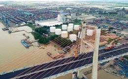 Ảnh: Cây cầu dây văng hơn 7.000 tỷ nối Hạ Long - Hải Phòng trước ngày thông xe