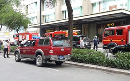 Cháy ở Elite Fitness tại tòa nhà Vincom Center, nhân viên tháo chạy giữa trưa