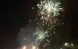 Đồng Nai: Pháo hoa bắn rực trời đêm chiến thắng của Olympic Việt Nam
