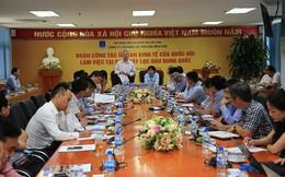 Ủy ban Kinh tế Quốc hội làm việc với CTCP Lọc Hóa dầu Bình Sơn