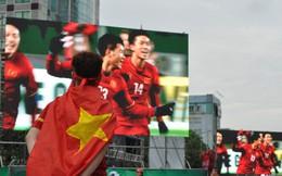 Ngưng lưu thông trên phố đi bộ Nguyễn Huệ để phát sóng trận U23 Việt Nam vs U23 Hàn Quốc