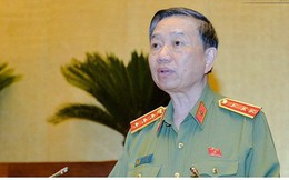 Bộ trưởng Công an Tô Lâm sẽ trả lời chất vấn trước Thường vụ Quốc hội