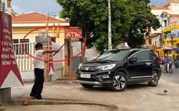 Nghi vấn bảo vệ ngân hàng đập phá ô tô ở Thái Bình: Thông tin mới nhất từ cơ quan công an