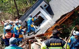 Số người thương vong do động đất ở Nhật Bản vẫn không ngừng tăng