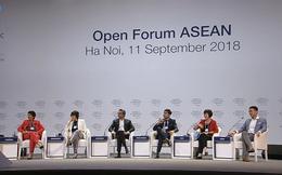 """""""Bộ trưởng hotboy"""" của Malaysia, chuyện khởi nghiệp của doanh nghiệp Việt và câu hỏi bất ngờ dành cho đại diện Google làm nóng phiên thảo luận đầu tiên của WEF ASEAN 2018"""