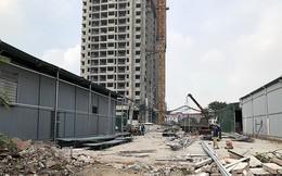 Cưỡng chế hàng loạt nhà kho tự phát để làm khu đô thị