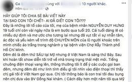 """Mẹ Việt kiều Mỹ tố bác sĩ tắc trách làm con trai 19 tuổi tử vong, BV Chợ Rẫy lên tiếng: """"Người nhà bệnh nhân đã thổi phồng câu chuyện"""""""