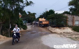 Cận cảnh tuyến đường 1,9 km làm mãi không xong ở Quảng Nam
