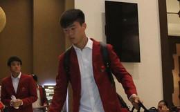 Dàn sao Olympic Việt Nam nén nỗi buồn, sắp xếp hành lý lên đường về nước