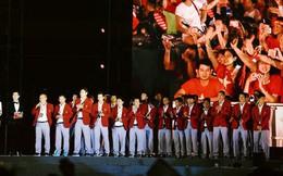 Nhiều khoảnh khắc ấn tượng trong lễ vinh danh đoàn thể thao Việt Nam trở về từ ASIAD 2018