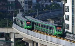 13 đoàn tàu đường sắt Cát Linh - Hà Đông đang chạy thử trong sáng nay