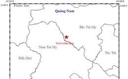 Động đất 3,1 độ richte tại Quảng Nam
