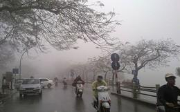 Gió mùa đông bắc tràn về, Hà Nội mưa dông
