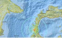 Động đất 7,5 độ richer gây sóng thần ở Indonesia: Chưa rõ thương vong