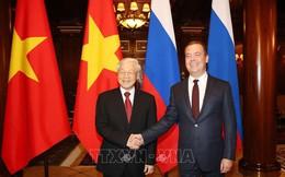 Tổng Bí thư hội kiến Thủ tướng Liên bang Nga