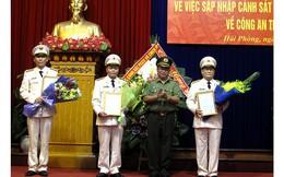 Công an Hải Phòng bổ nhiệm 3 Phó Giám đốc
