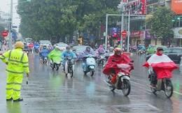 Gió mùa đông bắc chuẩn bị tràn về gây mưa dông diện rộng