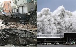 Hình ảnh: Nhật Bản hoang tàn, đổ nát sau liên tiếp siêu bão Jebi và động đất 6 độ Richter ở Hokkaido
