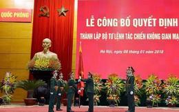 Quân đội thành lập Bộ Tư lệnh Tác chiến không gian mạng