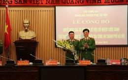 Bộ Công an bổ nhiệm nhân sự mới