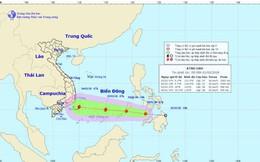 Áp thấp nhiệt đới gần Biển Đông có thể mạnh thành bão