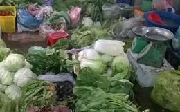Giá rau xanh tăng mạnh vì trời rét