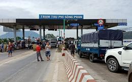 Tài xế dừng xe phản đối, BOT Sông Phan xả trạm
