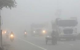 Ngày đầu tuần, miền Bắc vẫn chìm trong sương mù