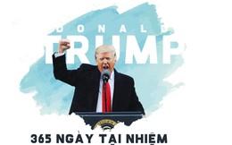 Năm đầu tiên trong Nhà Trắng của tổng thống Trump: Những con số kỷ lục đập tan tranh cãi