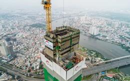 Cận cảnh tòa tháp cao nhất Việt Nam Landmark 81 chuẩn bị cất nóc