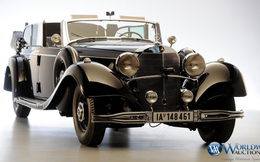 Siêu xe Mercedes của Hitle được rao bán mức giá kỷ lục