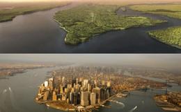 Hình ảnh đáng kinh ngạc về New York 400 năm trước