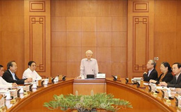 Công bố quyết định nhân sự một số cơ quan, tổ chức Trung ương