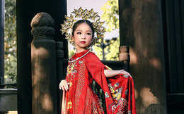 Cô bé Việt Nam 6 tuổi trở thành tân Hoa hậu nhí Á Âu 2018