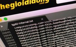 Hacker tuyên bố nắm trong tay thông tin của hơn 5 triệu khách hàng Thế Giới Di Động, có cả số thẻ và địa chỉ email