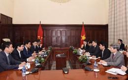 BIDV và KEB Hana Bank làm việc với Thống đốc NHNN