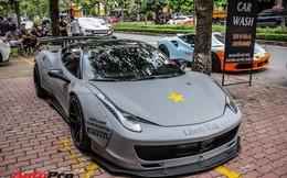 """Dàn siêu xe Ferrari """"rủ nhau"""" đi làm đẹp tại Sài Gòn"""