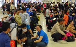 Có 2.248 chuyến bay chậm giờ trong tháng 11