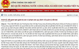 Bắt giam đại tá Trần Trọng Tuấn, PGĐ Công ty Hải Thành