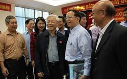 Sáng nay Tổng Bí thư, Chủ tịch nước Nguyễn Phú Trọng tiếp xúc cử tri Hà Nội