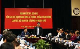 Bộ Ngoại giao thực hiện tốt các biện pháp phòng ngừa tham nhũng